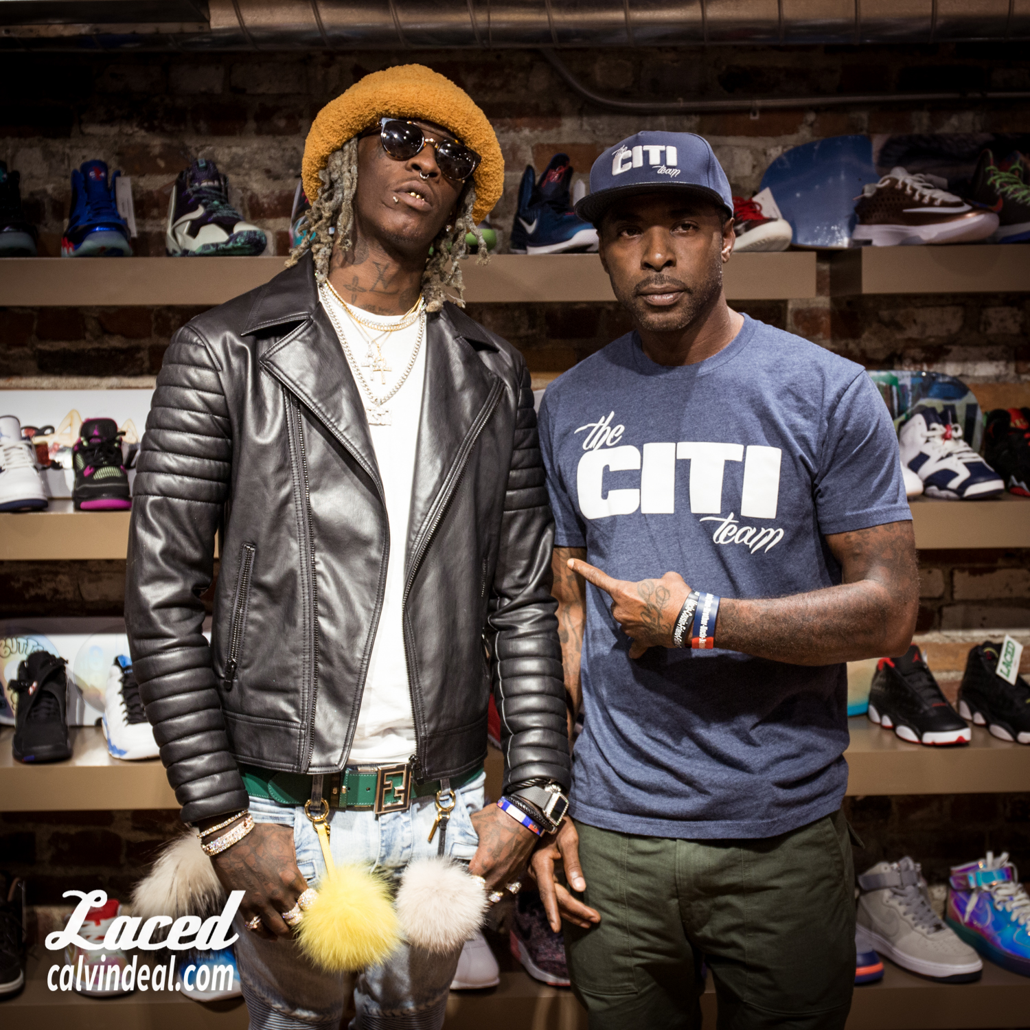 Young Thug X Thelacedexperience Fan Photos Laced Boston