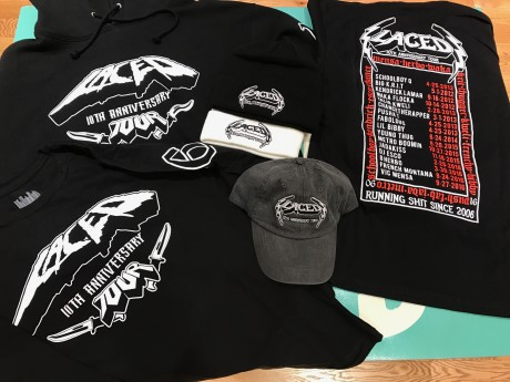 10 Year Anniversary Tour Gear